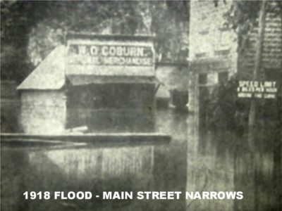 Main Street - Flood of 1918