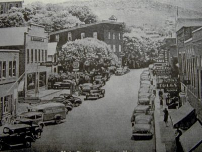 Main Street in Downtown - 1941