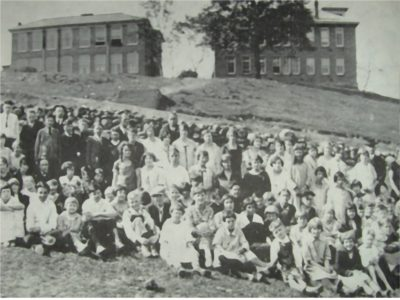 High School on Cave Street - 1924