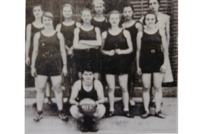 Narrows Women's Basketball Team - 1932