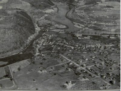 Aerial Photo of Narrows 1923
